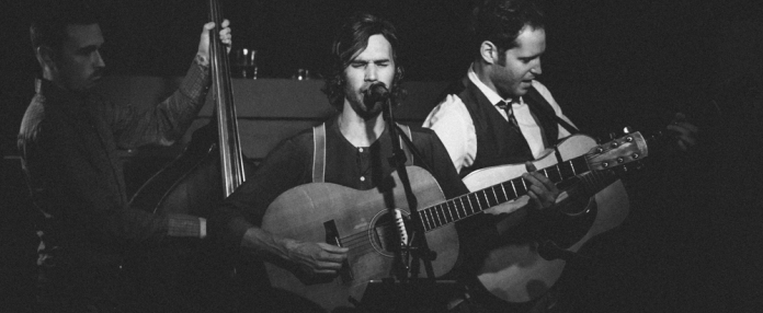 Willie Watson jamming with the Get Down Boys