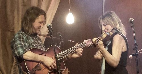 John Neufeld and Annalisa Tornfelt. Photo by Mary Winzig.