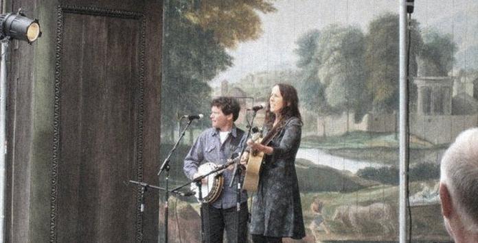 Sean Feder and Rita Hosking. Photo by Kora Feder.
